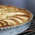 Tarte aux pommes sans produit laitier