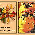 Oranges infusées au sirop d'épices de noël et aux pistaches