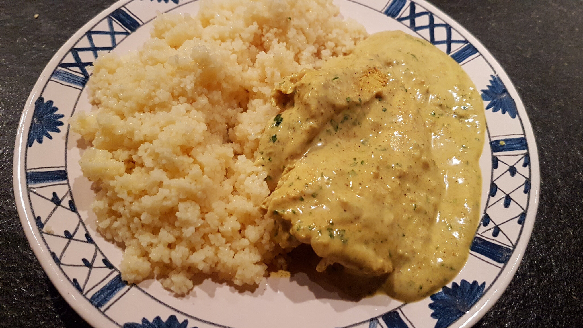 Curry de poulet tandodoux