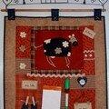Pense-bête Vache (kit Atelier des ABCdaires)