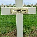 COUILLARD Joseph Antoine (Velles) + 30/10/1918 Recouvrance (<b>08</b>)
