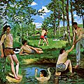The youth of Impressionism: Works by Frédéric <b>Bazille</b> on view in <b>Paris</b>
