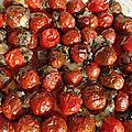 Courgette et tomates farcies au veau.