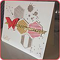 Stampin ´up : carte papillon