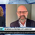 <b>COMMUNICATION</b> POLITIQUE - PASSER DU JOURNALISME A LA POLITIQUE