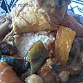 Couscous poulet avec ses petits légumes