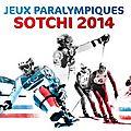 Sotchi, jeux paralympiques 2014