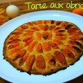 Tarte aux abricots et à la crème d'amandes