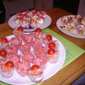 Verrines apéro & dessert