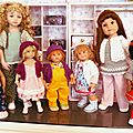 Diverses tailles de poupées // Various dolls sizes
