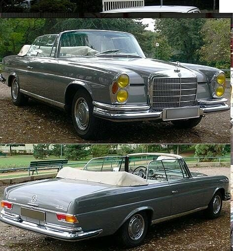 MERCEDES - 280 SE (W111) V8 3L5 Fintail - 1970