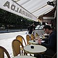 Terrasse Esméralda face au square Jean XXIII