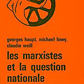 Les marxistes et la question nationale (souyri,1979)