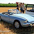 Triumph spitfire mk3 roadster (6ème fête autorétro étang d' ohnenheim)