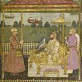 Emperor Farrukhsiyar Enthroned, India, Mughal, circa 1715, and <b>Lucknow</b>, third quarter 18th century