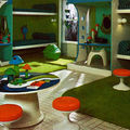Mushroom room....