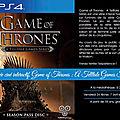 Soirée ciné interactif, game of thrones...