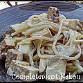Spaghetti carbonara {vegan}