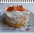 Cheesecake au chèvre frais et saumon fumé