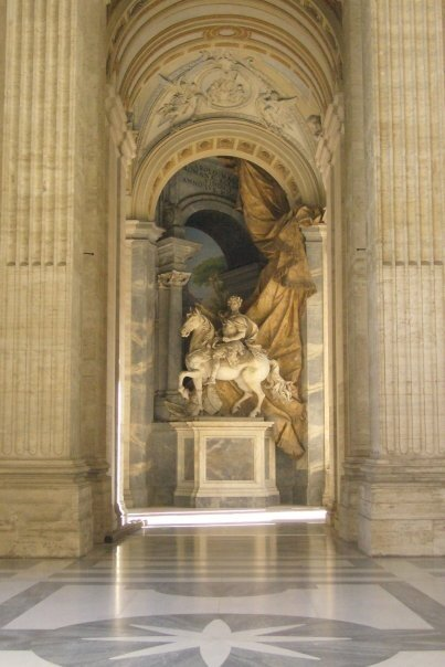 rome st pierre galerie