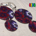 BO rouge et violette