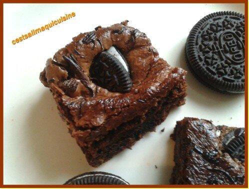 Brownies Oreo® de Salima