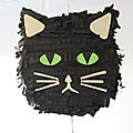 Diy d'halloween : la piñata chat noir (+ conseils gain de temps)