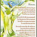 Poésie : la prière de l'arbre