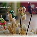 escargots pique-fleurs