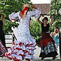 Fête communale 2015, Sévillanes 19 juillet