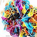 Mon écharpe de toutes les couleurs
