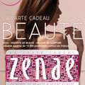 <b>Carte</b> <b>cadeau</b> <b>ZENAE</b>