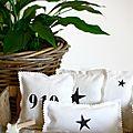 Sachets de lavande et étoile en papier