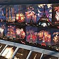 Décors sur <b>lave</b> émaillée au 1er étage de la Tour Eiffel, à Paris