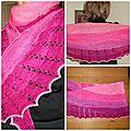 Spearmint tea shawl