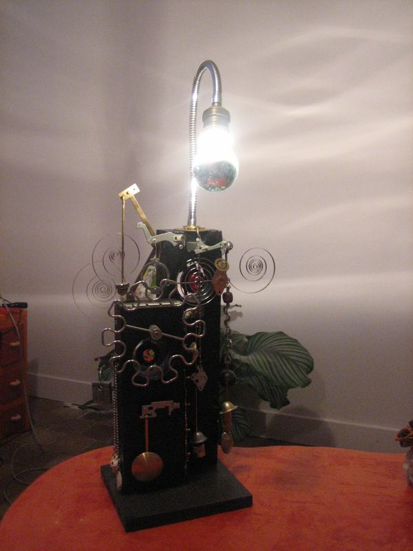 LAMPE ENGRENAGES