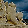 Statuaire du jardin des Tuileries.