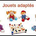 Poupée d'apprentissage - Chaussures à lacer - Articles pour <b>enfants</b> <b>handicapés</b> - Lou Hibou Caillou