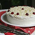 Red velvet cake : gâteau rouge velours