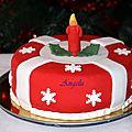 Gâteau de noël 2011