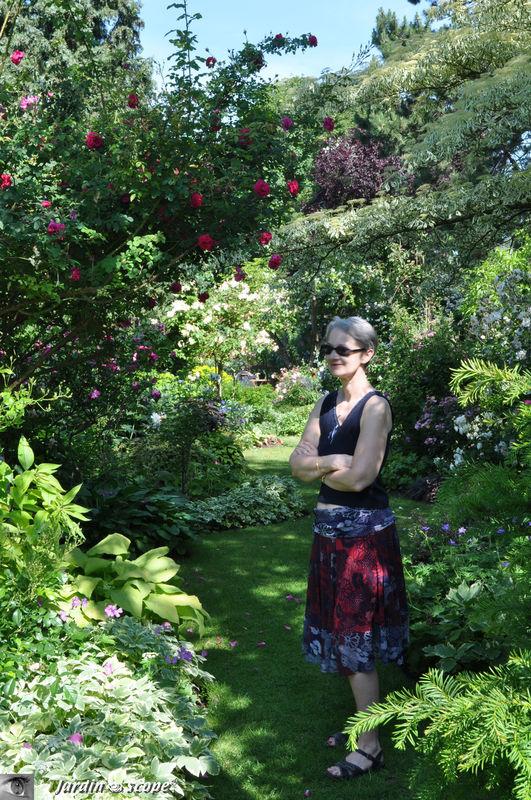Ce jardin succite l'admiration de tous