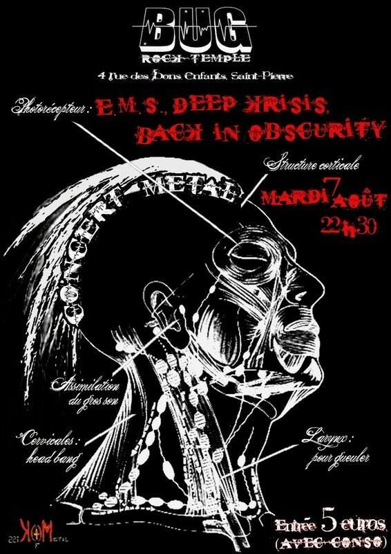 Back in obscurity, Deep krisis & E.M.S. au BUG