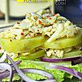 Cerviche de sole et pommes de terre {kitchen trotter - perou}