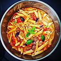 ...One pot pasta/boeuf/tomate/<b>carotte</b>...