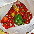 Parce que le clafouti de tomates cerises, çà déchire!