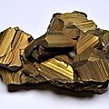 Chalcopyrite from ashio copper mine, japan