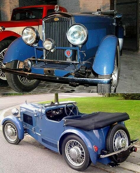 WOLSELEY HORNET - special 6 cylindres - 1931
