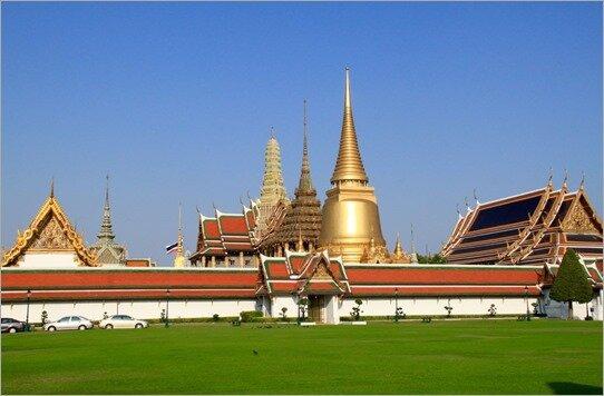 THAILANDE–part2 BANGKOK - le Wat Phra Kaeo et le palais, un bijou…