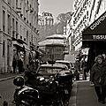Instantané parisien.