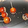 La désormais célèbre tomate cerise caramélisée